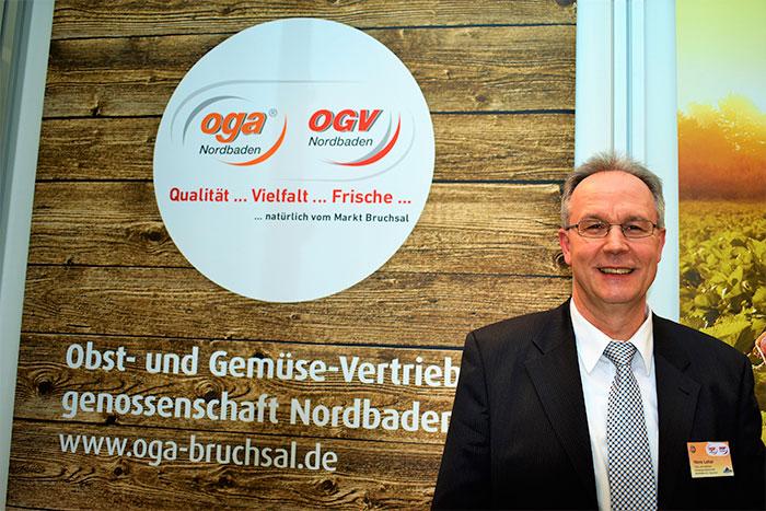 Portrait Hans Lehar, Geschäftsführender Vorstand OGA / OGV NORDBADEN EG