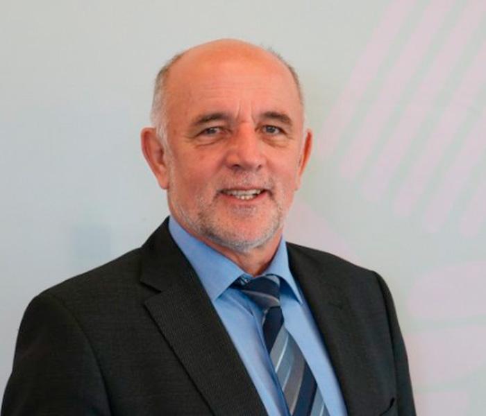 Portrait Werner Räpple, Präsident BLHV